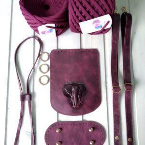 Наборы фурнитуры для рюкзака (натуральная кожа)